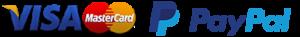 Visa MasterCard PayPal - icon